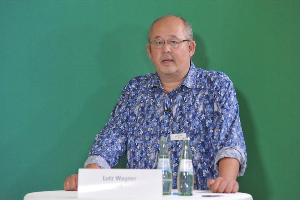 Oft nicht einer Meinung mit den anderen Kandidaten war Lutz Wagner von der AfD.